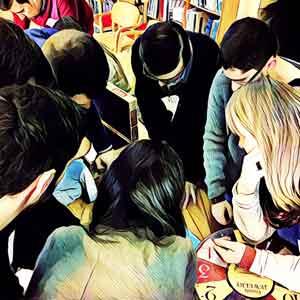 grupo trabajando en equipo